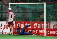 JPW hit a goal against DMM at Mumbai on 20-01-2013