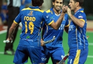 JPW is celebrating after hitting a goal against DMM at Mumbai Stadium on 20-01-2013