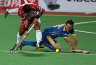 JPW vs DMM- Players in action at Mumbai Hockey Stadium (pic-1)