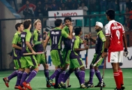 delhi-team-celebrating-a-fourth-goal-against-mumbai-magicians-at-delhi