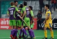 delhi-waveriders-celebrating-their-first-goal-against-punjab-warriors-match-at-delhion-29th-jan-2013