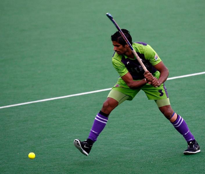 rupinder-player-of-delhi-waveriders-doing-practice-at-delhi-on-7-Feb-2013-1