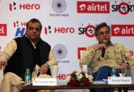 Hockey India Secretary General & Chairman of Hero Hockey India League Dr. Narinder Batra and Managing Director & CEO of Hero MotoCorp Ltd Mr. Pawan Munjal addressing the Media and Guests.