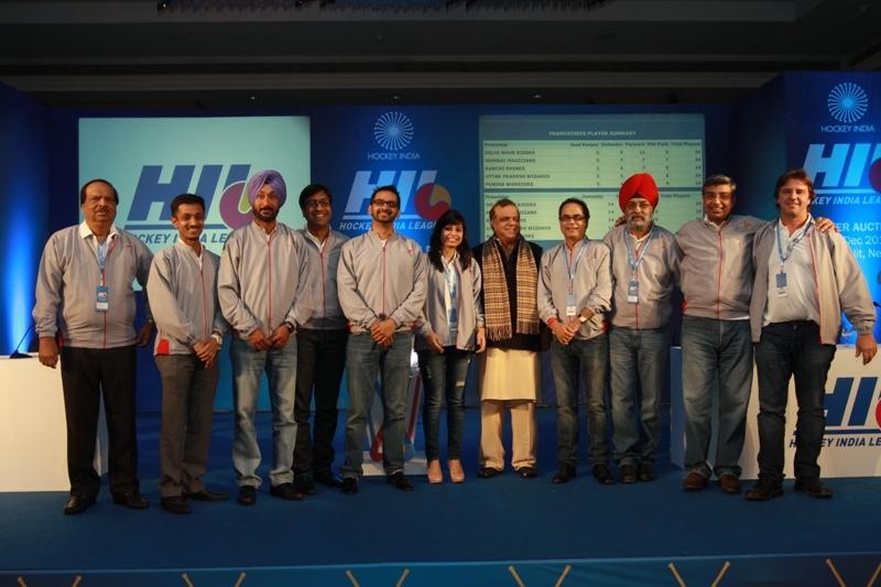 Dr. Narinder Batra, Secretary General Hockey India and Chairman Hockey India League with Ranchi Rhinos franchise