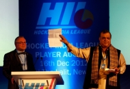 Dr. Narinder Batra, Secretary General Hockey India and Chairman Hockey India League at the Auction.