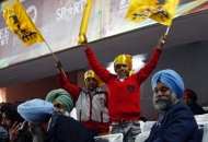 Punjab Spectators cheers their team