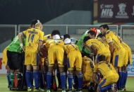 punjab-warriors-team-huddles-before-match-at-jalandhar-against-mumbai-magician-match-on-24th-jan-2013