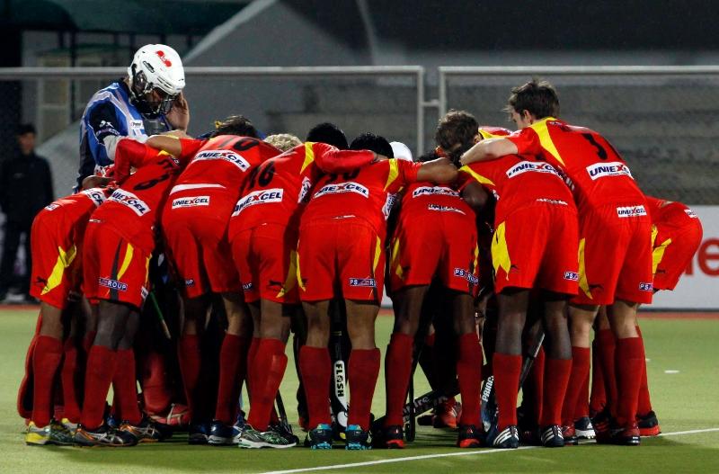ranchi-rhinos-team-huddles-during-match-at-jalandhar-against-punjab-warriors-match-on-4th-feb-2013