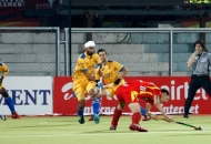 1st-goal-for-ranchi-rhinos-hit-by-justin-reid-ross-against-punjab-warriors-at-jalandhar-on-4th-feb-2013