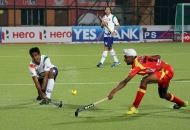 mandeep singh of RR in action against UPW