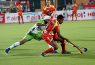 birendra lakra of RR in action against DWR