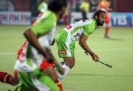 sardar singh captain of DWR in action against RR