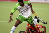 surender kumar of DWR in action against RR