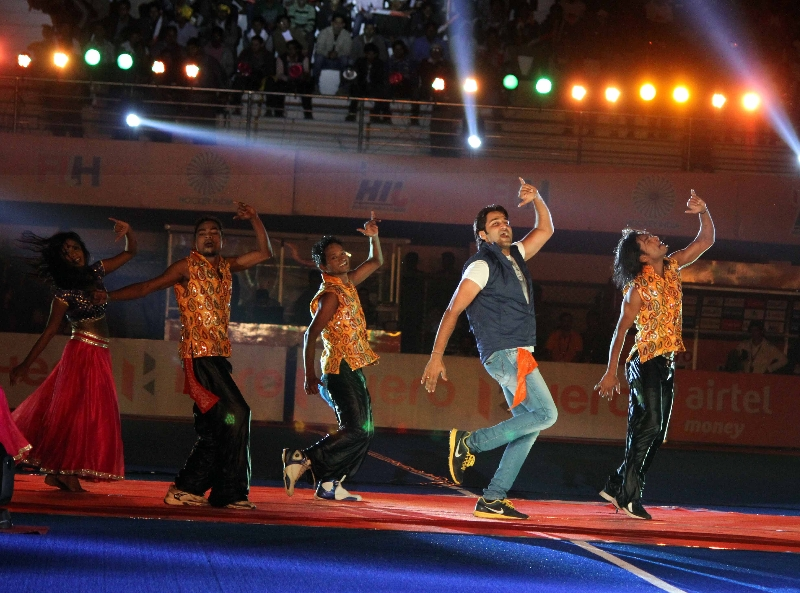 Opening Ceremony of Bhubaneswar Hockey Stadium on 28-01-2014