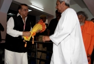 Dr Narinder Batra, Chairman HHIL welcoming Chief Minister of odisha Mr. Naveen Patnaik