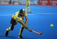 Gaganpreet Singh of JPW in action against KL