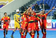 RR celebrates-after-scoring-a-goal-against-JPW-at-mohali