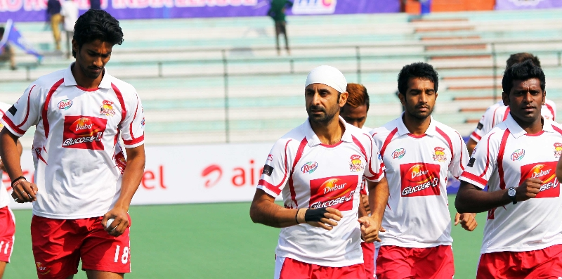 Warmup Session at Lucknow