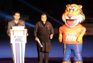 nitin-kukreja-head-of-sports-marketing-star-india-and-dr-narinder-batra-in-opening-ceremony-in-their-hhil-2014-at-mohali