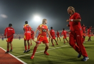 ranchi-rhinos-team-players-in-warm-up-session-during-17th-match-of-hhil-2013-at-astroturf-hockey-stadium-ranchi-on-date-28-jan-2013-3