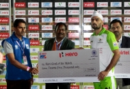 goal-of-tha-match-gurvinder-chandi-during-presentation-ceremony-after-won-the-match-against-ranchi-rhinos-at-hhil-2013-at-astroturf-hockey-stadium