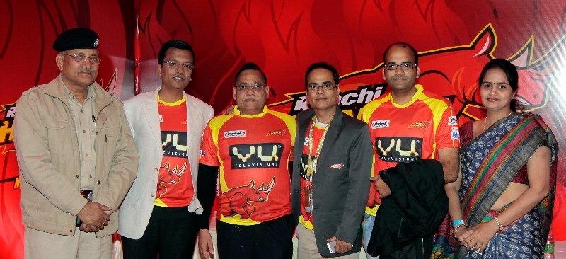 ranchi-rhinos-team-co-owner-giving-pose-to-our-shutterbug-in-vip-lounge-during-22nd-match-of-hhil2013-at-ranchi-2