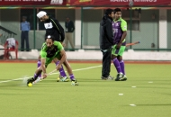 delhi-wave-rider-player-in-warm-up-session-during-22nd-match-of-hhil2013-at-astroturf-hockey-stadium-ranchi-on-date-1-feb-2013-4