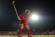 ashley-jackson-in-warmup-session-of-24-match-of-hhil-2013-at-ranchi
