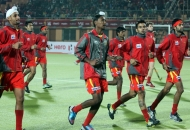 ranchi-rhinos-team-in-warm-up-session-during-24th-match-of-hhil2013-at-astroturf-hockey-stadium-ranchi-on-date-2nd-feb-2013-1