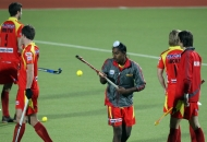 ranchi-rhinos-players-in-warm-up-session-during-12th-match-of-hhil-2013-at-astroturf-hockey-stadium-on-date-24-jan-2013