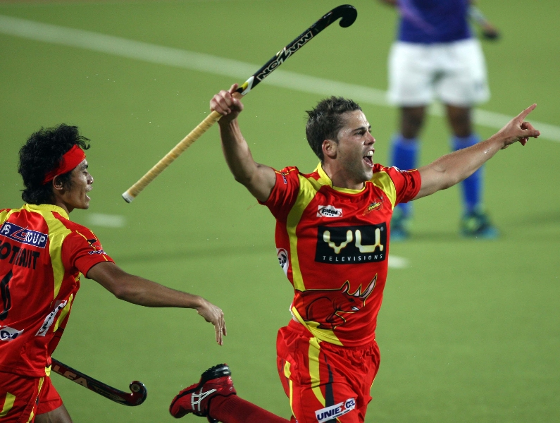 nick-wilson-scoring-a-third-goal-for-rr-against-upw-during-the-1st-semi-finals-at-ranchi-on-9th-feb-2013-1_0
