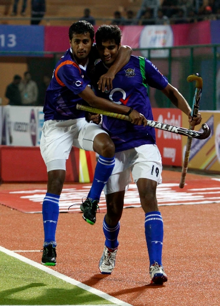s-nithin-scored-a-second-goal-for-upw-against-rr-during-the-1st-semi-finals-at-ranchi-on-9th-feb-2013