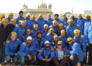 Jaypee Punjab Warriors visit the Golden Temple in Amritsar