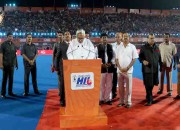 Chief Guest  Honourable Chief Minister of Odisha, Shri Naveen Patnaik announcing the 4th Coal India Hockey India League open