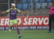 DWR's Mandeep Singh celebrates